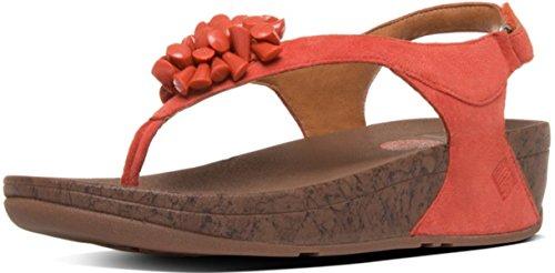 FitFlop - Sandalias de vestir para mujer Sunset Red