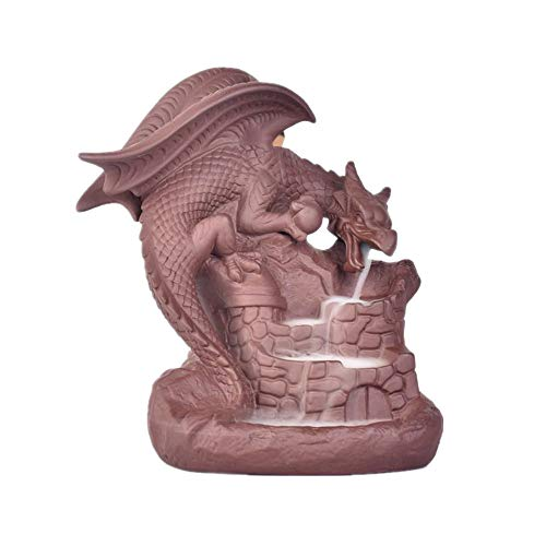 - Mildtalk Incense Cone Holder Dragon Backflow Dragon Breath Incense Burner