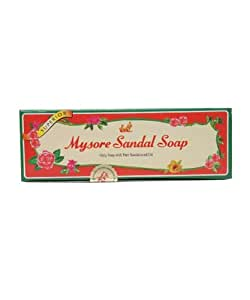 Mysore Sandalwood Enriched Sandal Soap 125g by Mysore Sandal
