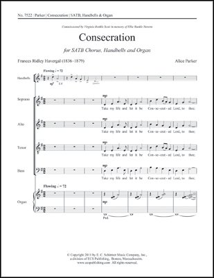 Download Consecration - Handbells, Organ Sheet Music book pdf