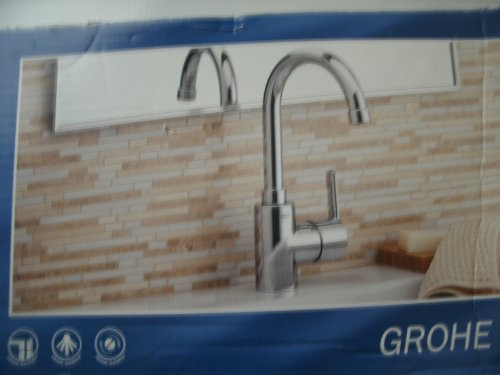 GROHE Chrome 1-Handle Single Hole Bathroom Sink Faucet Item#339523 Model# 23173000 UPC# (Grohe Model)