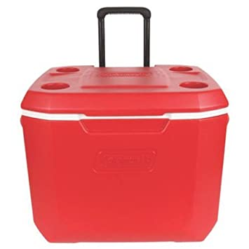 Coleman 50qt Cooler – Red