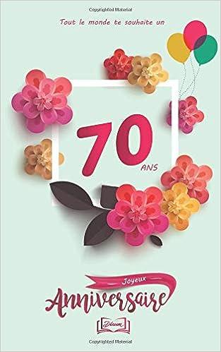 Joyeux Anniversaire 70 Ans Theme Girly Livre A Personnaliser