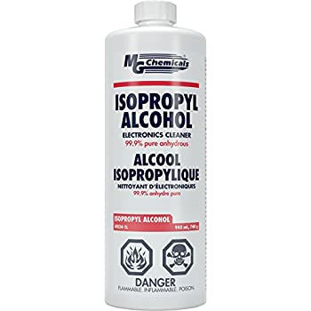 MG Chemicals 99.9% Isopropyl Alcohol Liquid Cleaner, 945 mL (1 US Quart)