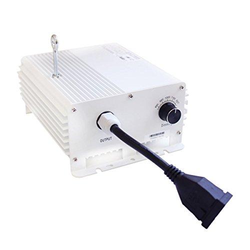 [해외]iPower의 잡음의 Va 1000W 더블 엔드 디지털 디 밍이 가능한 전자 안정기 HPS MH 전구 성장 조명 시스템 키트 실내 식물 240V / iPower Denova 1000W Double Ended Digital Dimmable Electronic Ballast for HPS MH Bulbs Grow Light System Kits fo...