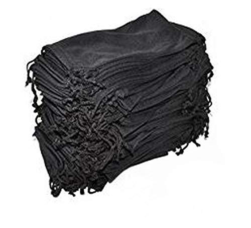 Eyeglasses Pouches Case Bag Black 6, 12, 24,100, 2000 PCS (Black, 100 ()