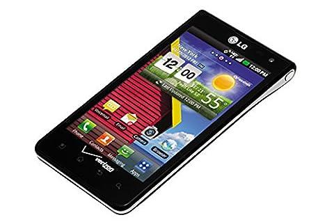 LG Lucid 4G VS840 Verizon CDMA Cellphone, 8GB, Black (Verizon Camera Phones)