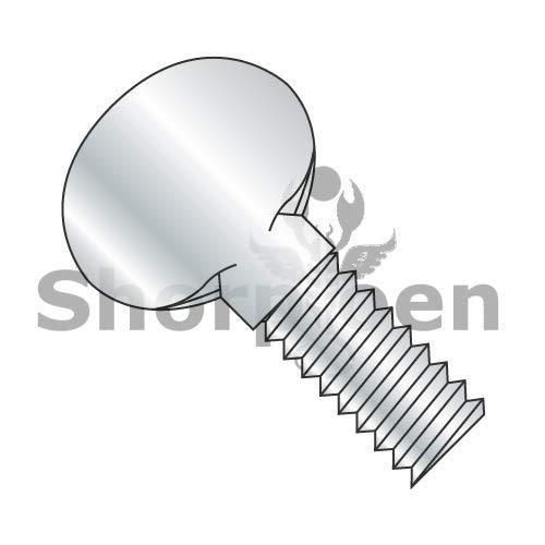 SHORPIOEN Thumb Screw Plain Fully Thread Zinc 1/4-20 x 3/4 BC-1412T (Box of 800)