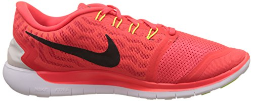 Nike Free 5.0 - Zapatillas para hombre Bright Crimson/Black-Total Orange-Bright Citrus