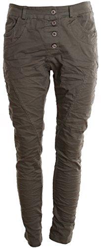 Basic Khaki Uni de Camicia Donna SSHB6wWaqx