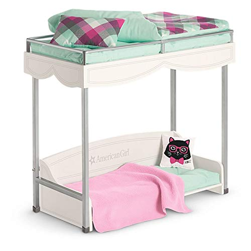Image of Home and Kitchen American Girl Bunk Bed & Bedding for 18' Dolls