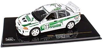 RAM525 Mitsubishi Lancer EVO V Super Taikyu 1998 Rally 1:43 Ixo Models Diecast