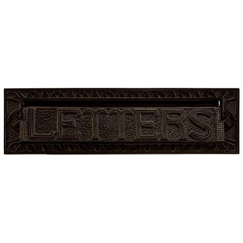 """Naiture 13"""" Heavy Duty """"LETTERS"""" Mail Slot In Oil Rubbed Bronze"""