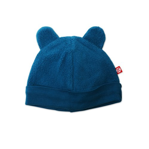 Zutano Infant Unisex-Baby Fleece Hat, Pagoda, 6 Months