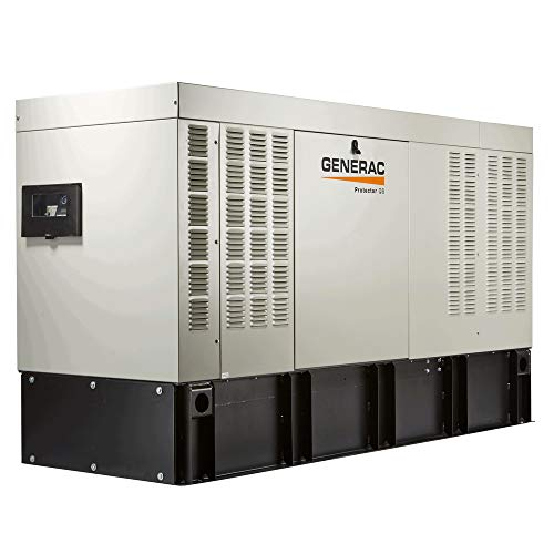 Generac RD01523ADAE Protector Series Diesel Liquid Cooled Standby Single Phase Generator with Aluminum Enclosure, 15kW (Discontinued by Manufacturer) ()