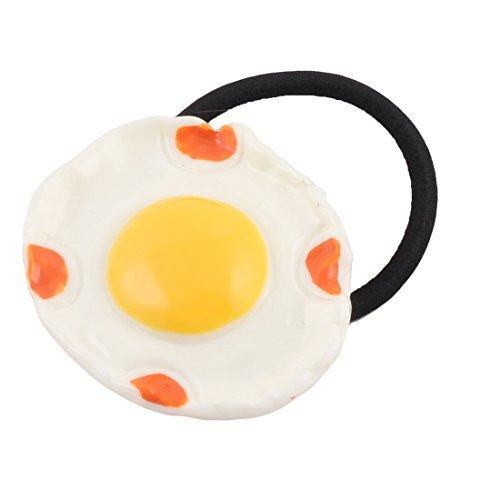 Egg eDealMax Tissu lastique Design Fille Corde Bandeau Hairdress cheveux Queue de Cheval titulaire