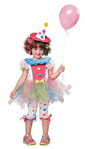 Fancy (Toddler Rainbow Clown Costumes)