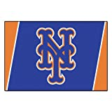 FANMATS MLB New York Mets Nylon Face 5X8 Plush Rug