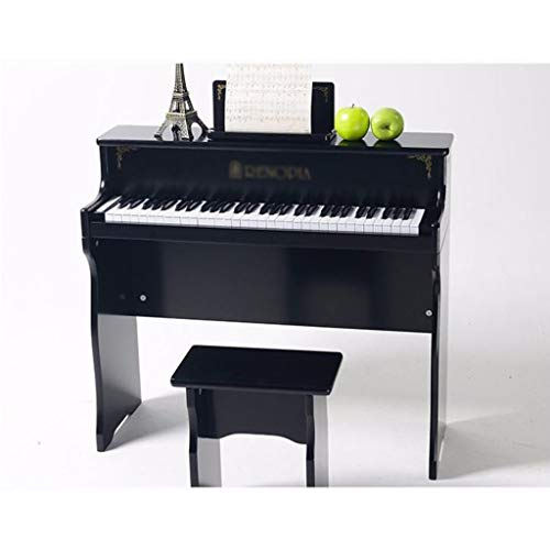 KINGLING-piano Children's Piano 61 Key Baby Children Beginner Electric Piano Wooden Early Education Toy Keyboard (Color : Black) by KINGLING-piano (Image #3)
