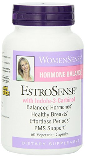 Natural Factors - WomenSense EstroSense, Supports Female Natural Hormone Balance, 60 Vegetarian Capsules