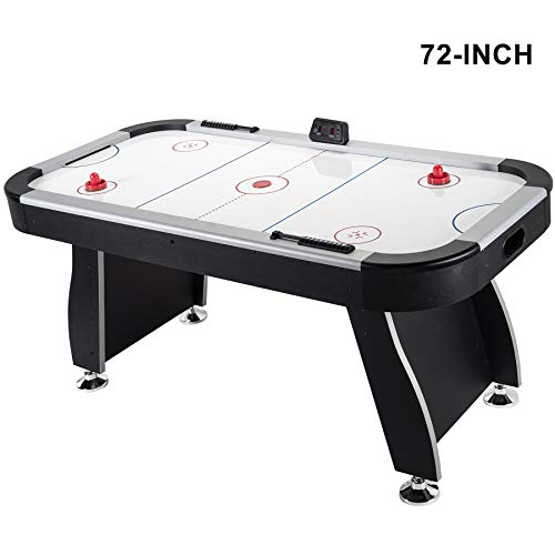 Pinty 48''/50'' Foosball Table Competition Sized Soccer Table Game for Kids & Adults Use Game Room (72