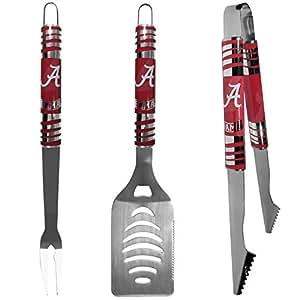 NCAA Alabama Crimson Tide Tailgater BBQ Set (3 Piece), Steel