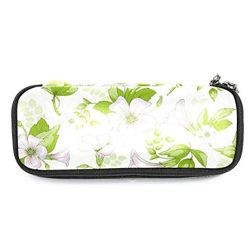 Morning Glory Pencil Pouch Stationery Holder Storage Organizer for Pens Pencils]()