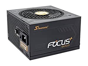 Seasonic FOCUS Plus Series SSR-550FX 550W 80+ Gold ATX12V & EPS12V Full Modular 120mm FDB Fan Compact 140 mm Size Power Supply