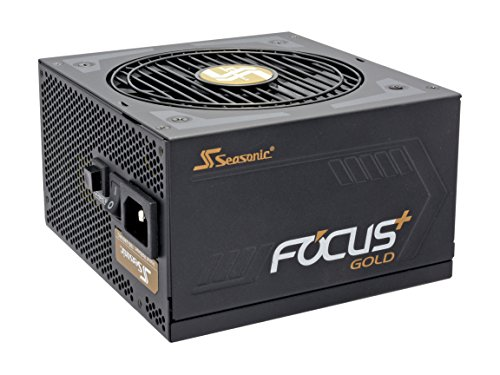 Seasonic FOCUS Plus Series SSR-650FX 650W 80+ Gold ATX12V & EPS12V Full Modular 120mm FDB Fan Compact 140mm Size Power Supply