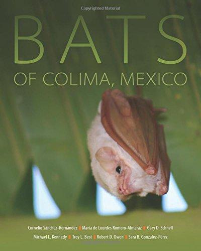 Bats of Colima, Mexico (Animal Natural History Series)