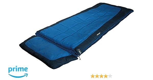 High Peak Camper Saco de Dormir, Unisex, Azul Oscuro, 230 x 90 cm: Amazon.es: Deportes y aire libre