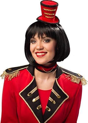 Femmes Showman Cirque Monsieur Loyal Mini Chapeau Ras Du Cou