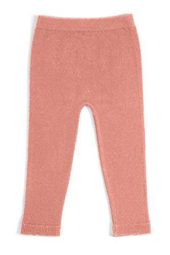 Dusty Pink Cotton (EMEM Apparel Unisex Boys Girls Baby Infant Medium Weight Seamless Cotton Full Ankle Length Leggings Dusty Pink 6-12 Months)