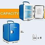 AstroAI Mini Fridge 4 Liter/6 Can AC/DC Portable