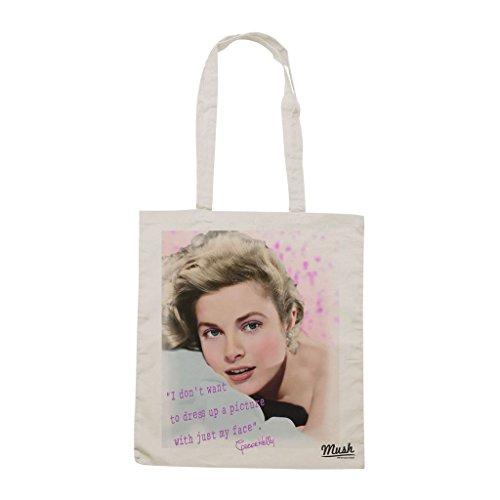 Borsa Grace Kelly - Panna - Famosi by Mush Dress Your Style Descuento Con Tarjeta De Crédito VOarBfKMP