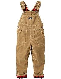 OshKosh B'gosh Baby Boys Overall 11424812, Brown, 12M