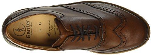 Ganter Giacomo W, Weite G, Zapatos de Cordones Brogue para Hombre Marrón - Braun (cognac 2600)