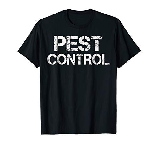 Pest Control Exterminator Halloween Costume T-Shirt]()
