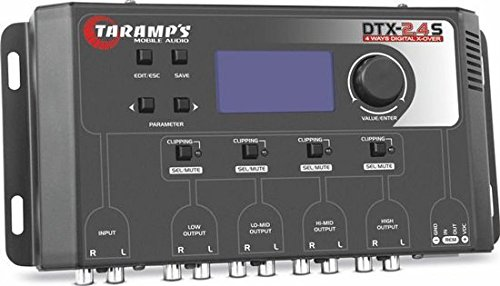 TARAMP'S DTX24S Digital Electronic Crossover