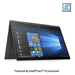 HP Envy x360 15-cn1000ne, 2 in 1 Laptop, Intel Core i7-8565U, 15.6 Inch, 512GB SSD, 16GB RAM, Nvidia Geforce MX150 (4GB Graphics), Win 10, Eng-Ara KB, Silver