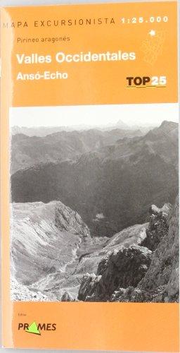 Descargar Libro Mapa Valles Occidentales - Anso-echo - Pirineo Aragones ) Aa.vv.