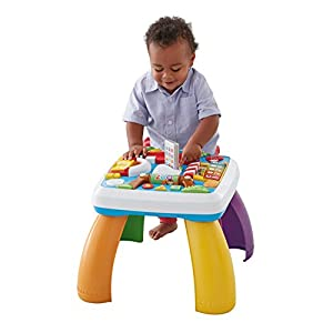 Fisher-Price Laugh & Learn Around The Town Learning Table - 41JdwuN7tqL - Fisher-Price Laugh & Learn Around The Town Learning Table