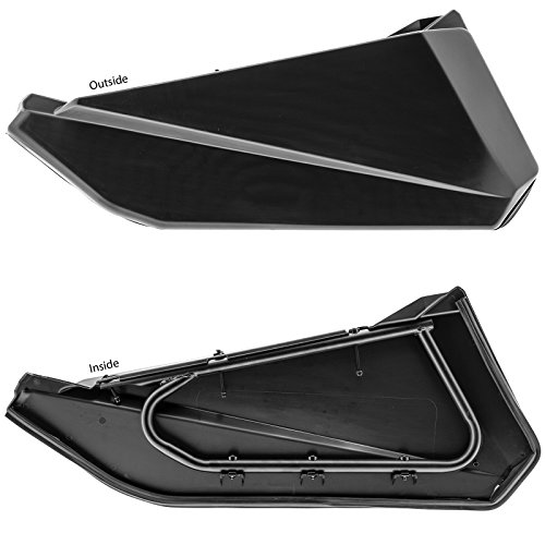 - Replacement Can Am Maverick X3 Lower Door Panels Inserts, Black (Left & Right)