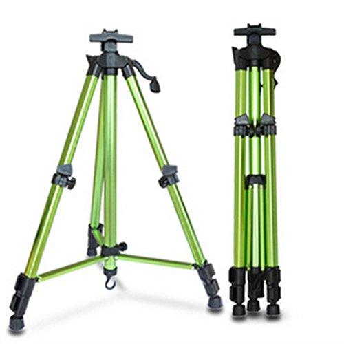 Field Easel, Mukin Adjustable Height Folding ArtEasel, Colorful Aluminum Lightweight and Sturdy Easel Stand - 62 Inches Tall Telescoping Tripod for Tabletop or Floor. (Portable Carry Bag) - Adjustable Plastic Easel