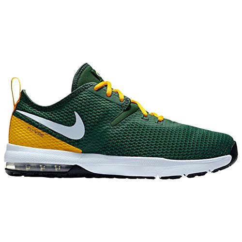 Nike NFL Air Max Typha 2 - Men's Green Bay Packers Nylon Training Shoes 10.5 D(M) US