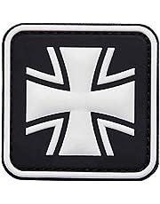 VAN OS Embleem 3D PVC patch ijzeren kruis Bundeswehr patch klittenband badge patch