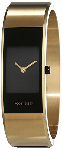 JACOB JENSEN Damen-Armbanduhr Analog Quarz Edelstahl ECLIPSE ITEM NO. 444
