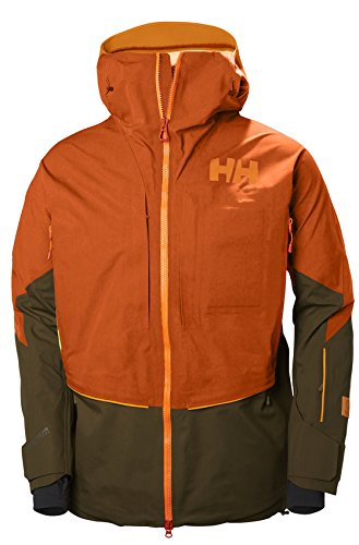 Helly Hansen Mens Elevation Shell Jacket, 245 FLAME, M