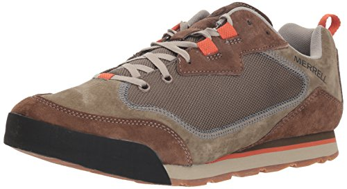 Dusty Olive - Merrell Burnt Rock Travel Suede Men 9.5 Dusty Olive
