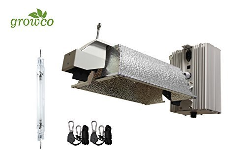 Grow Co. 1000W Pro Series Controller Compatible DE Fixture w/ 1000W DE HPS Lamp